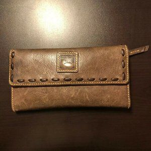 Dooney Bourke Florentine Continental Clutch Wallet